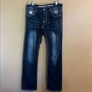American Fighter Buckle Jeans